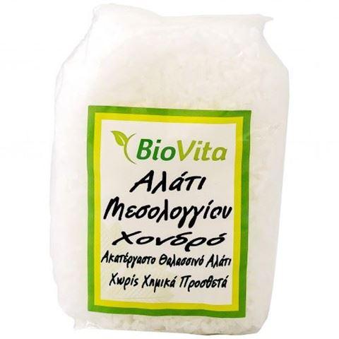 Βiovita Αλάτι Μεσολογγίου Χονδρό 500gr
