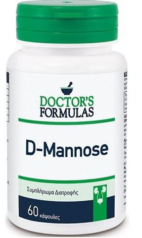 Doctor's Formulas D - Mannose, 60 Κάψουλες