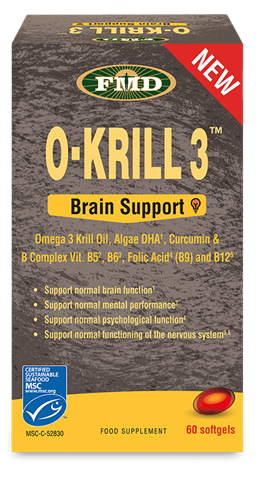 Udo's Choice Krill Oil Brain Support, 60 Μαλακές Κάψουλες