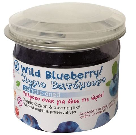 Health Trade Wild Blueberries Osmotic Xωρίς Ζάχαρη 125g