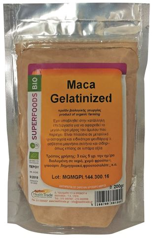 Health Trade Maca Gelatinized 200gr