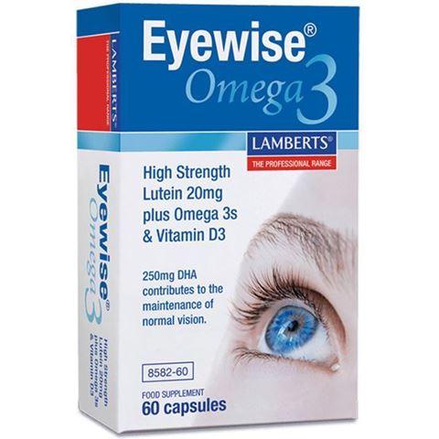 Lamberts Eyewise Omega 3, 60 Κάψουλες
