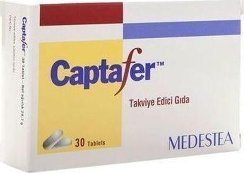 Medestea Captafer Συμπλήρωμα Διατροφής Για Την Απορρόφηση Του Σιδήρου 30 Ταμπλέτες