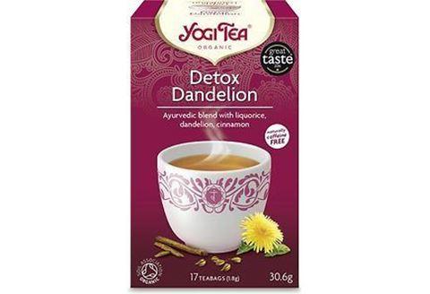 Yogi Tea De-tox Dandelion για Αποτοξίνωση 30.6gr