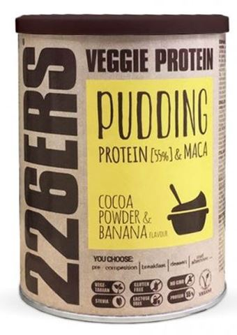 226ERS Veggie Protein Puding Chocolate 350gr