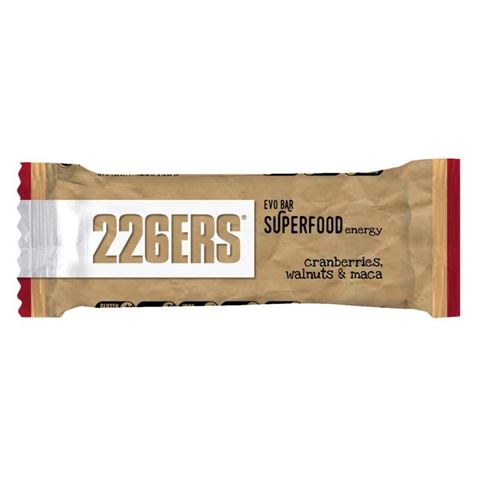 226ERS Evo Bar Superfoods Energy Walnuts, Cranberry & Maca 50γρ
