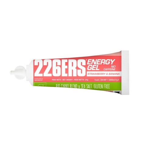 226ERS Energy Gel Strawberry & Banana Caffeine Free 25gr
