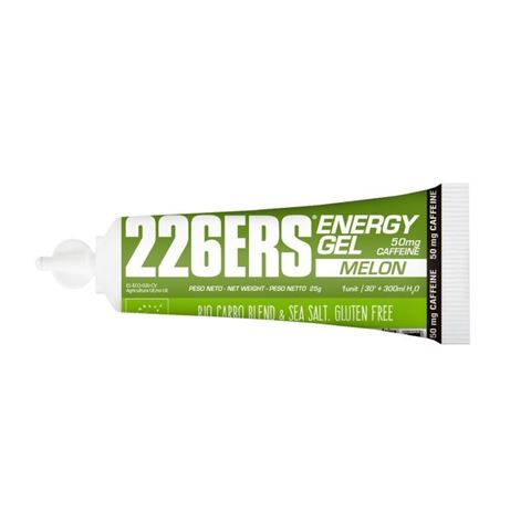 226ERS Energy Gel Melon 50mg Caffeine 25gr