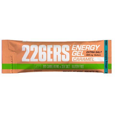 226ERS Energy Gel Caramel Extra Salt Caffeine Free 40gr