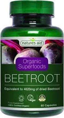 Natures Aid Beetroot 4620mg (Organic) - Παντζάρι 60 Φυτικές Κάψουλες