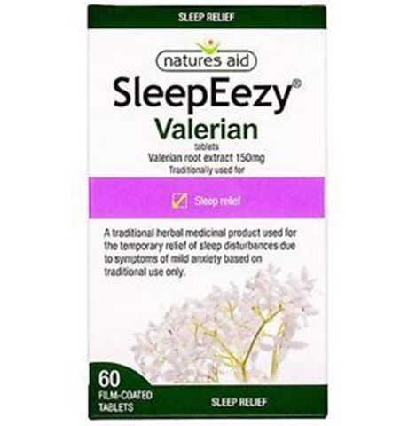 Natures Aid SleepEezy 150mg (Βαλεριάνα) 60 Ταμπλέτες