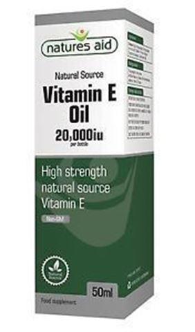 Natures Aid Vitamin E Oil 20,000iu (Vegan) 50ml