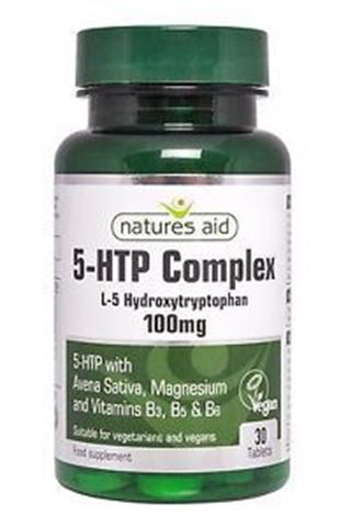 Natures Aid 5-HTP Complex 100mg, 30 Ταμπλέτες