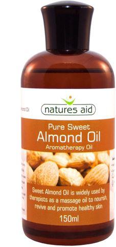 Natures Aid Almond Oil (αμυγδαλέλαιο) 150ml