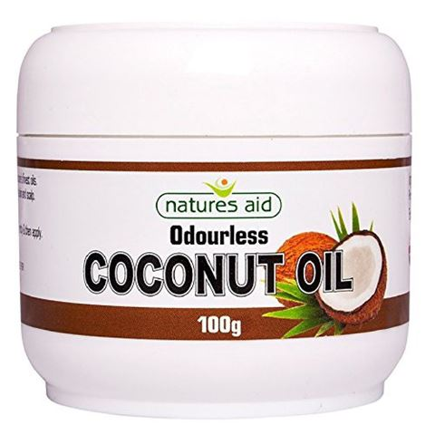 Natures Aid Coconut Oil Άοσμο 100g
