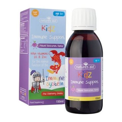 Natures Aid Kidz Immune Support 150ml