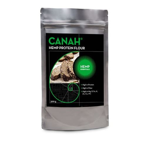 Canah Αλεύρι από σπόρους Κάνναβης 300ml