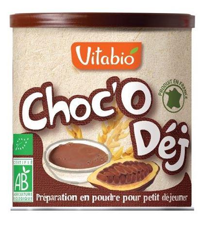 Vitabio Choc'o Dej, Ρόφημα Σοκολάτας με Δημητριακά σε σκόνη 500γρ