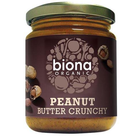 Biona Φυστικοβούτυρο Crunchy με θαλασσινό Αλάτι 250γρ