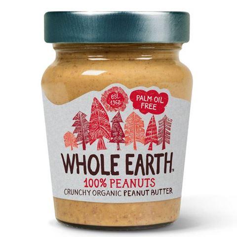 Whole Earth Φυστικοβούτυρο Crunchy χωρίς αλάτι 227γρ