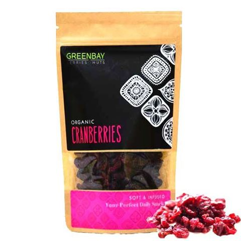 Greenbay Κράνμπερις (Cranberries) αποξηραμένα 125γρ