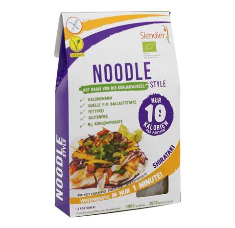 Slendier Noodle Style με Κόντζακ 400γρ