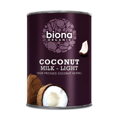 Biona Γάλα Καρύδας Ελαφρύ 9% 400ml