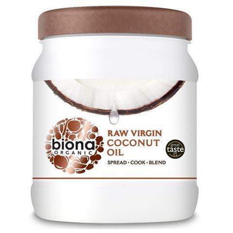 Biona Παρθένο Λάδι Καρύδας, Ψυχρής Έκθλιψης -RAW 800gr (Great Taste 2015)