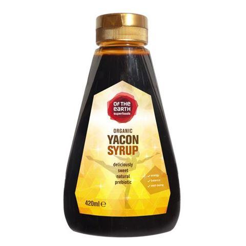 Of the Earth Σιρόπι Γιακόν yacon με γεύση Καραμέλας 420ml