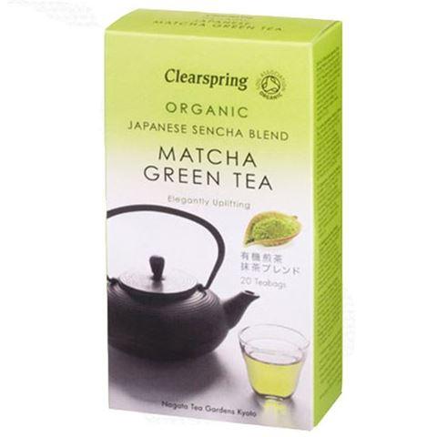 Clearspring Πράσινο τσάι Matcha 40γρ, 20 Φακελάκια