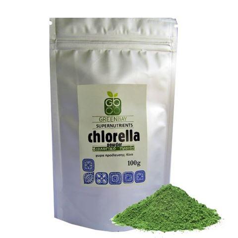 Greenbay Χλωρέλλα σε σκόνη 100γρ