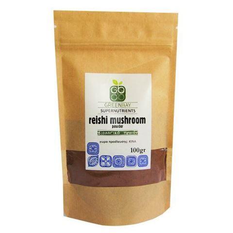 Greenbay Μανιτάρι Reishi σε σκόνη RAW -BIO 100γρ
