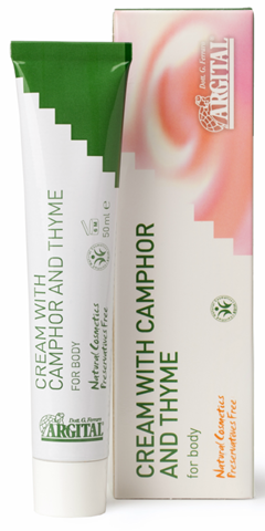 Argital Specific Products Cream with Camphor & Thyme 50ml