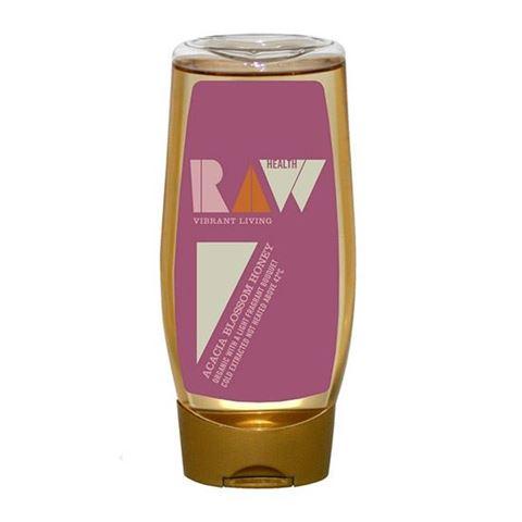 Raw Health Μέλι Ακακίας Ακατέργαστο 350γρ