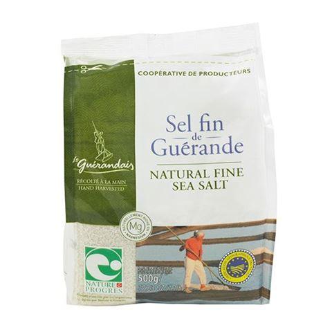 Le Guerandais Σκούρο Θαλασσινό Αλάτι Λεπτό 500γρ