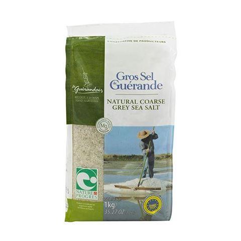 Le Guerandais Σκούρο Θαλασσινό Αλάτι Χονδρό 1kg