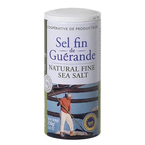 Le Guerandais Σκούρο Θαλασσινό Αλάτι Λεπτό 250gr