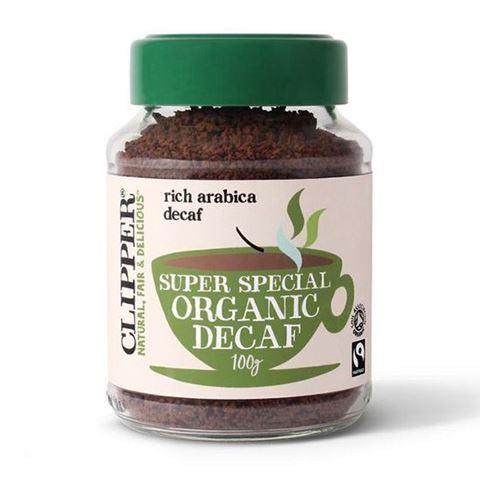 Clipper Στιγμιαίος Καφές ARABICA Χωρίς Καφεΐνη Freeze Dried (Fair Trade) 100γρ