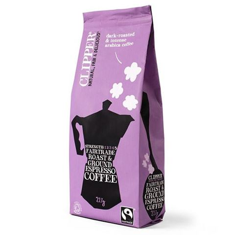 Clipper Καφές Espresso Arabica 227γρ