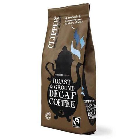 Clipper Καφές φίλτρου Arabica χωρίς καφεΐνη 227γρ