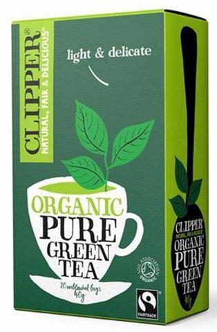 Clipper Πράσινο Τσάι 26 φάκ.