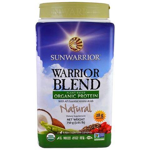 Sunwarrior Μείγμα Πρωτεϊνών Warrior Blend Φυσικό 750γρ