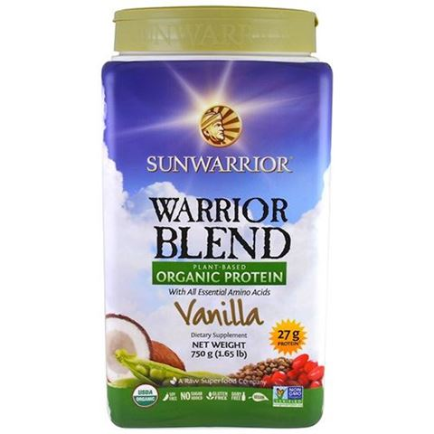 Sunwarrior Μείγμα Πρωτεϊνών Warrior Blend Βανίλια 750γρ