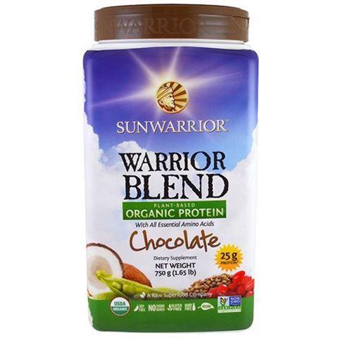 Sunwarrior Μείγμα Πρωτεϊνών Warrior Blend Σοκολάτα 750γρ