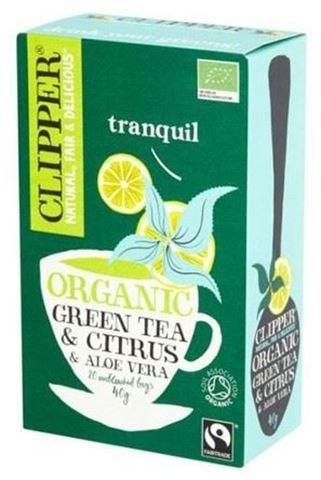 Clipper Πράσινο Τσάι με Αλόη 20 φάκ.
