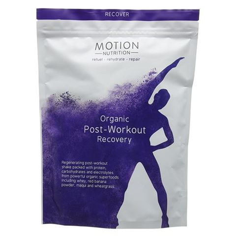 Motion Nutrition Μείγμα Πρωτεϊνη Whey Post-Workout Recovery 480γρ