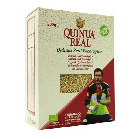 Quinua Real Λευκή Βασιλική Κινόα 500γρ Fair Trade