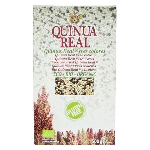 Quinua Real Τρίχρωμη Βασιλική Κινόα 500γρ Fair Trade