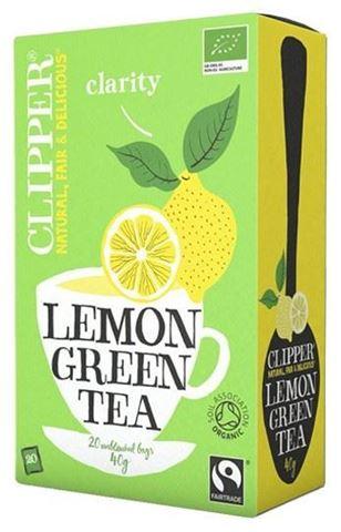 Clipper Πράσινο τσάι με Λεμόνι 20x2γρ