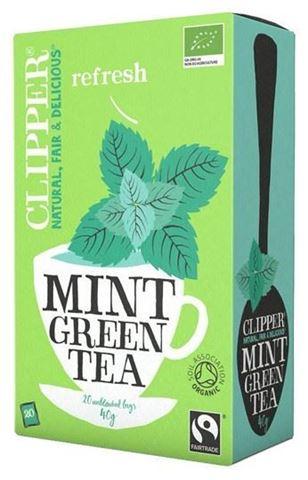Clipper Πράσινο τσάι με Μέντα 20x2γρ